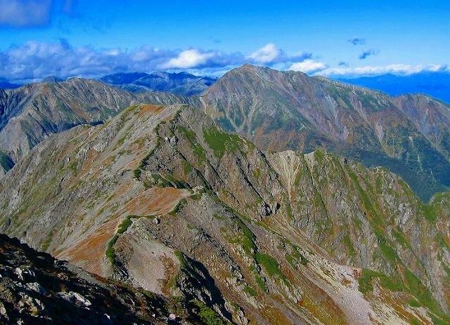 赤石岳3120m : カモシカクラブ