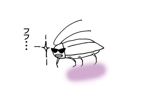 ゴキブリとの対決_d0156336_23495985.jpg