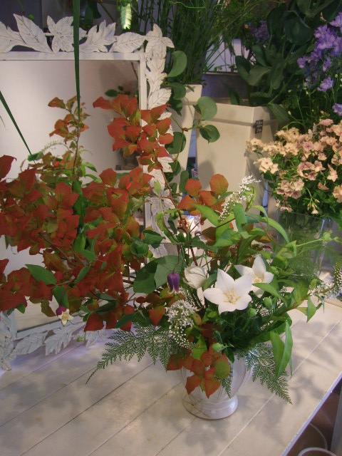 オークリーフ花の教室(松崎さんの作品)_f0049672_14181083.jpg
