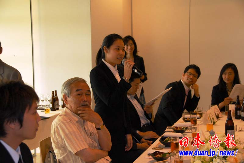 中国实习生参加日本著名企业研修交流会获好评_d0027795_1830406.jpg