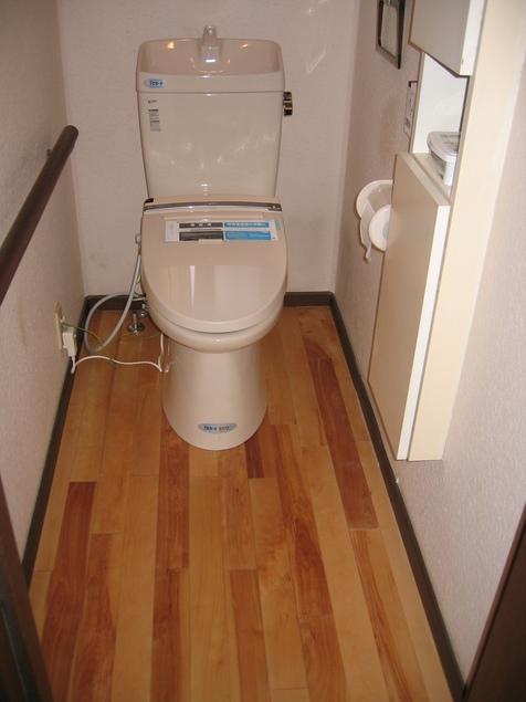 トイレの床張り_a0157159_1922242.jpg