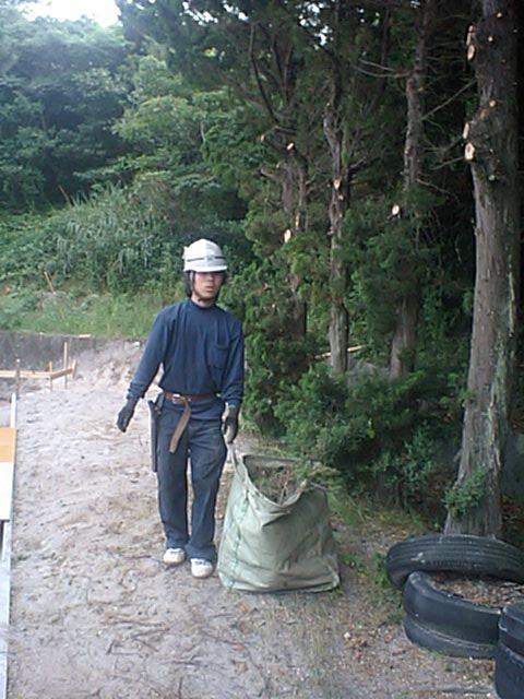 新島中学校樹木伐採工事 3_b0172896_10173329.jpg