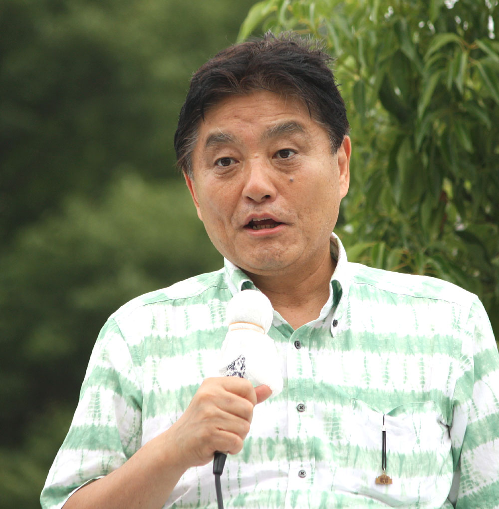 名古屋市長・河村たかしさんの演説を聞く_b0114798_1719150.jpg