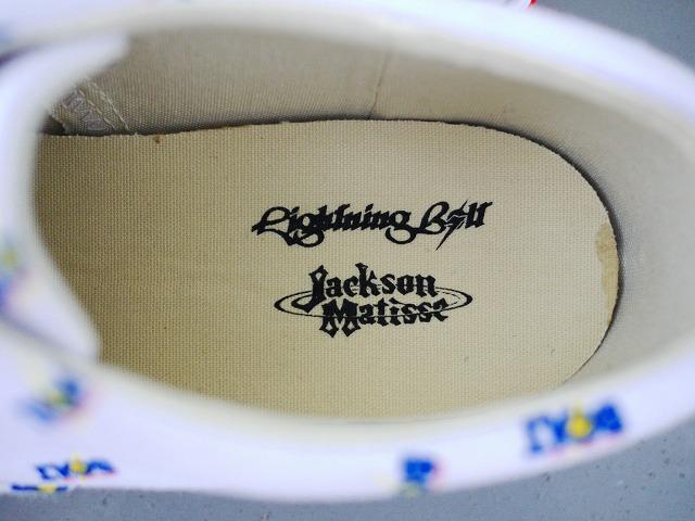 """ご予約開始 \""""LightnigBolt×JACKSON MATISSE Sneaker\""""_f0191324_2101813.jpg"""