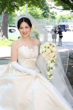 林 伸之様 幸花様ご結婚おめでとうございます♪_c0114560_15101628.jpg