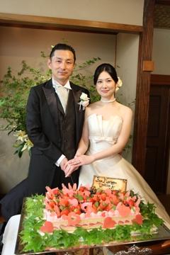 林 伸之様 幸花様ご結婚おめでとうございます♪_c0114560_1581399.jpg