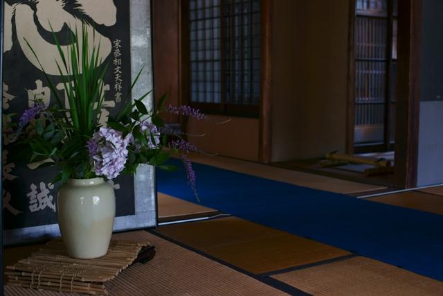 旧西尾家住宅の夏萩 (前)_e0177413_15214861.jpg