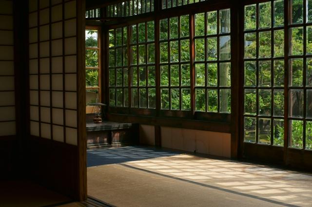 旧西尾家住宅の夏萩 (前)_e0177413_15311470.jpg