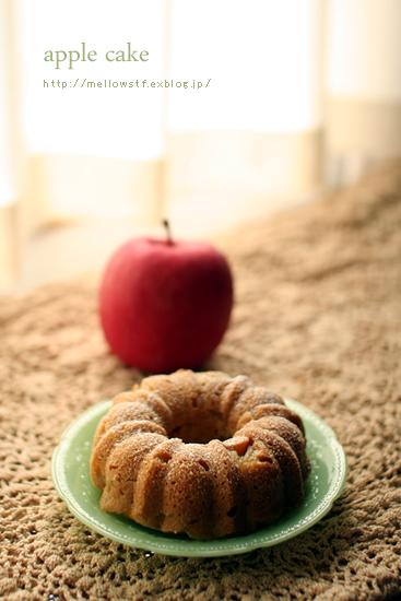 りんごのケーキ_d0124248_10262418.jpg