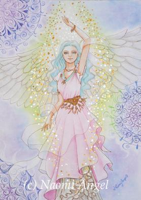 【第1弾】 非売品だったNaomi Angelの原画を特別に販売スタート!_f0186787_1432392.jpg