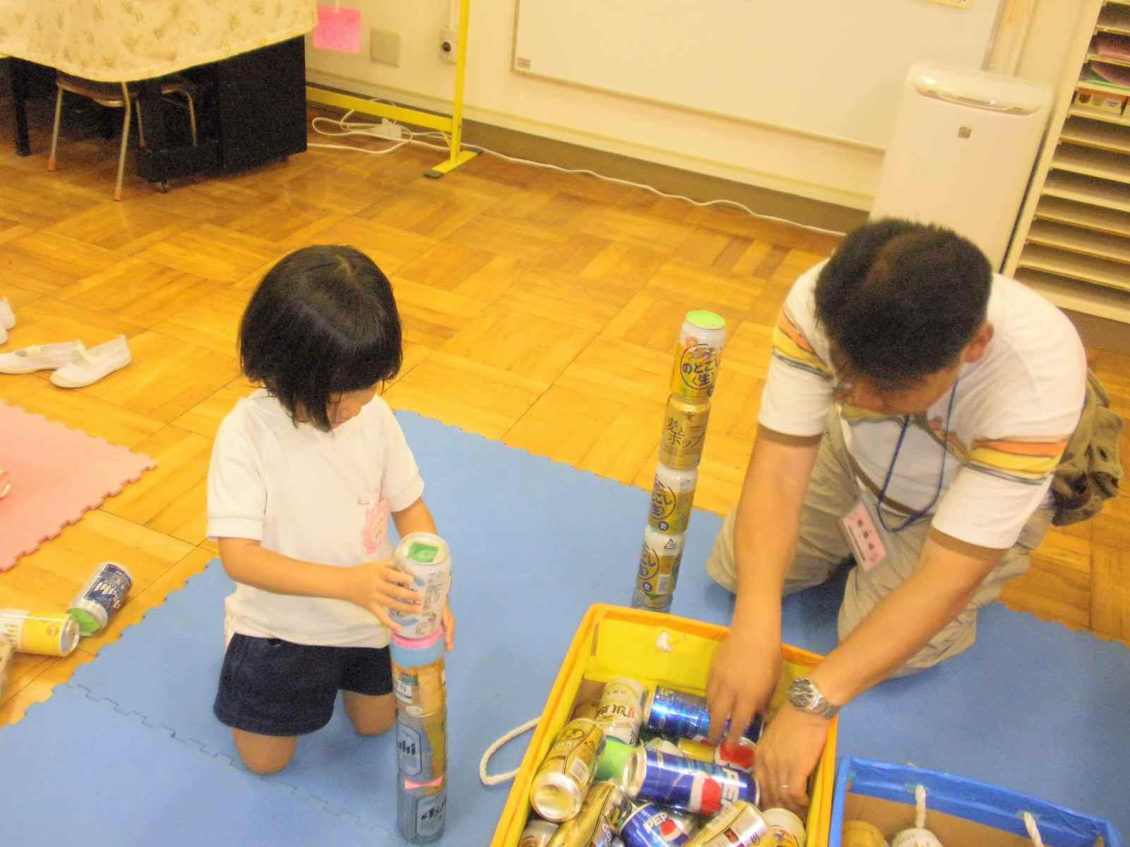 幼稚園の夏まつり。。。_f0096955_1225221.jpg