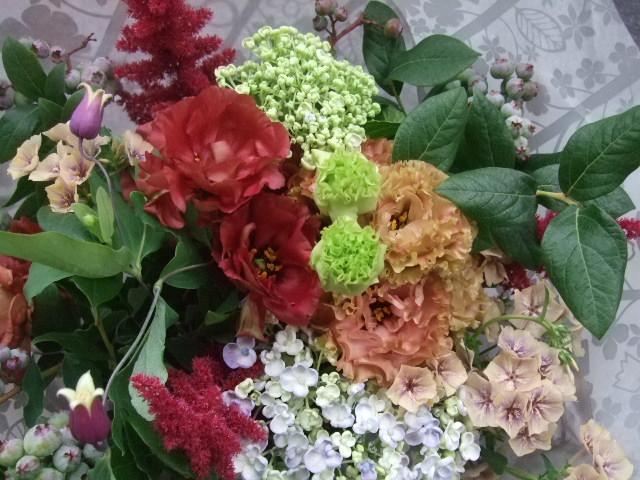 オークリーフ(還暦のお祝い花束)_f0049672_1223219.jpg