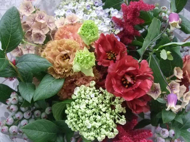 オークリーフ(還暦のお祝い花束)_f0049672_12261640.jpg