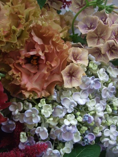 オークリーフ(還暦のお祝い花束)_f0049672_1226539.jpg