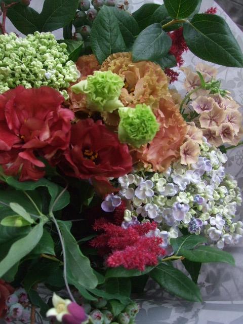 オークリーフ(還暦のお祝い花束)_f0049672_12283038.jpg