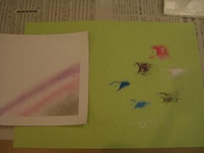 英語でパステル画の描き方説明にトライ_a0084343_1721492.jpg