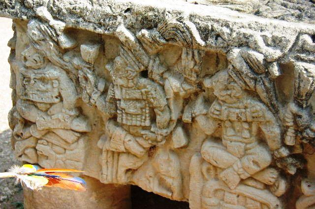 コパン遺跡 (3) 西広場 ② 16号神殿と祭壇Q_c0011649_823796.jpg