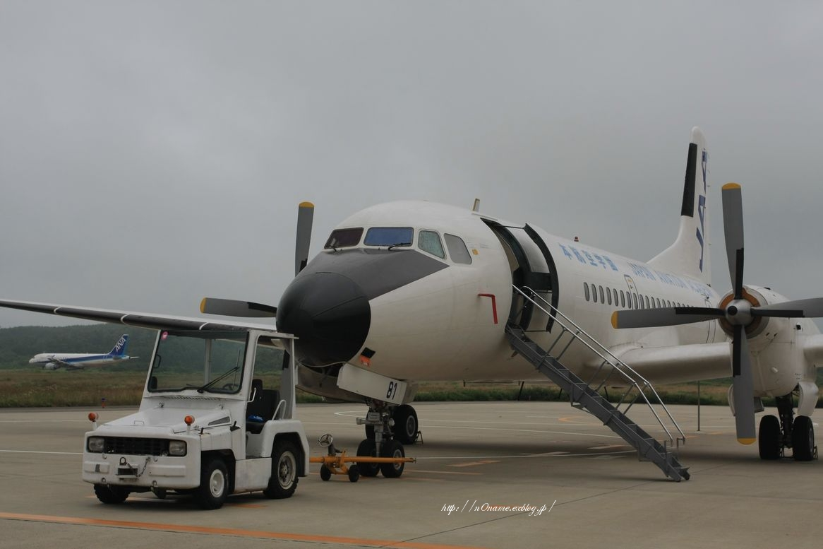 YS-11 in 能登空港_d0152551_20491090.jpg