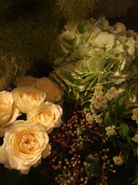 オークリーフ(紫陽花と実のもの)_f0049672_1435366.jpg
