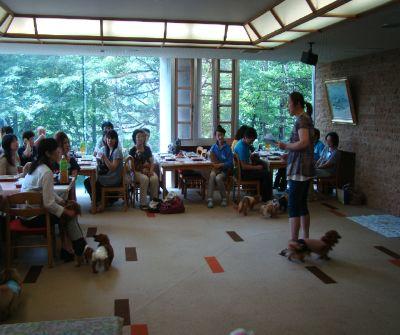 7月7日七夕さま・・・ダックス同窓会が開かれました_b0185375_15473324.jpg