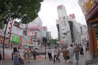 7月7日(水)今日の渋谷109前交差点_b0056983_1517561.jpg