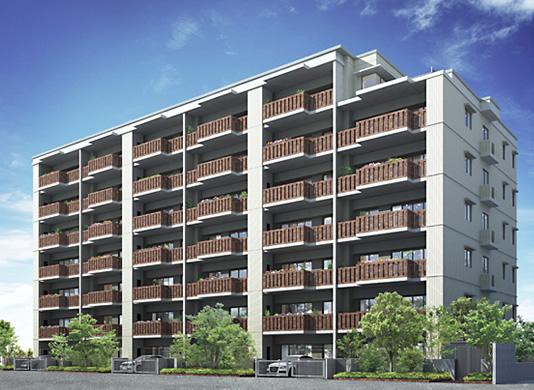 西鉄の「サンリヤン別府」として先導的長期優良住宅モデル住宅が工事中です!_f0155409_9574699.jpg