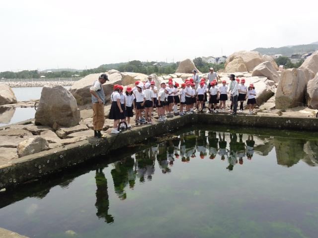下荘小学校5年生学習サポート in せんなん里海公園_c0108460_1745840.jpg