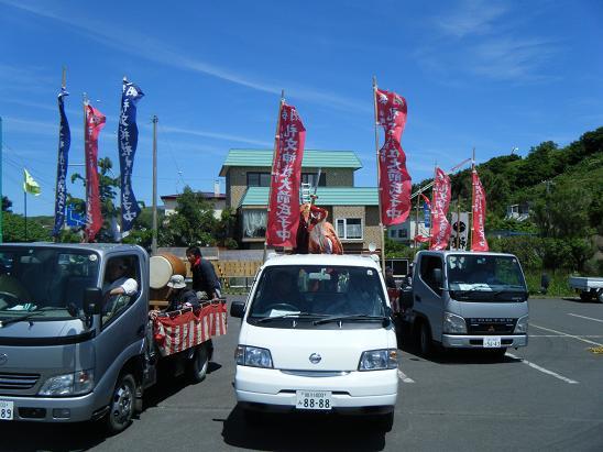 礼文神社のお祭り_e0120026_2331083.jpg