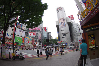7月9日(金)今日の渋谷109前交差点_b0056983_2161112.jpg
