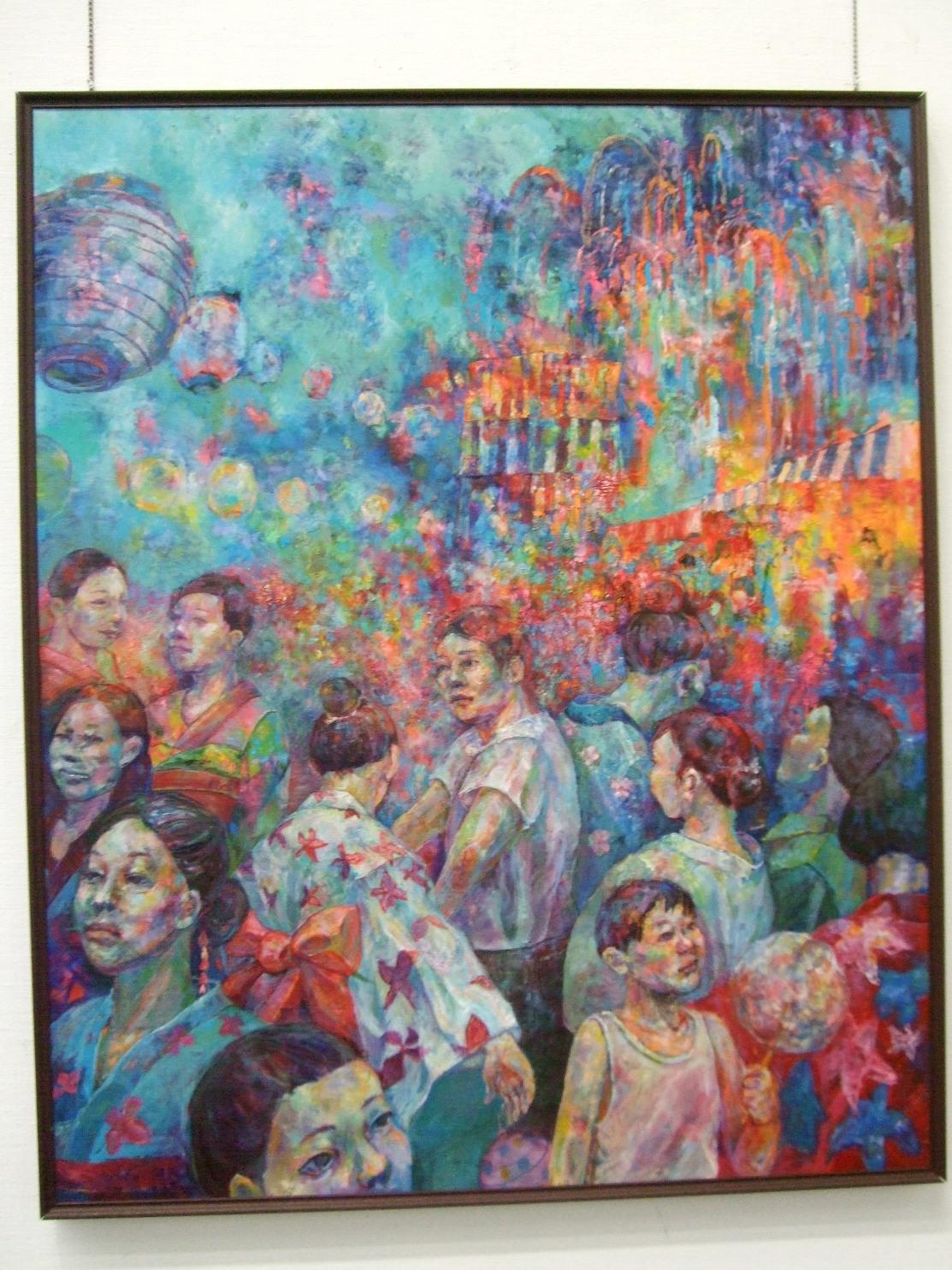 1291) 市民ギャラリー 「七月展 (道教育大自主作品展)」 7月7日(水)~7月11日(日)  _f0126829_15595020.jpg