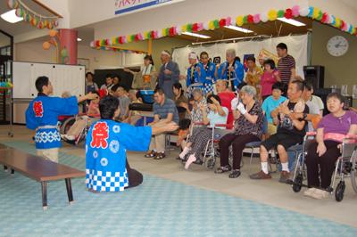 第12回聖愛園夏祭りを盛大に開催しました!!_a0154110_15575335.jpg