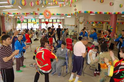 第12回聖愛園夏祭りを盛大に開催しました!!_a0154110_15582333.jpg