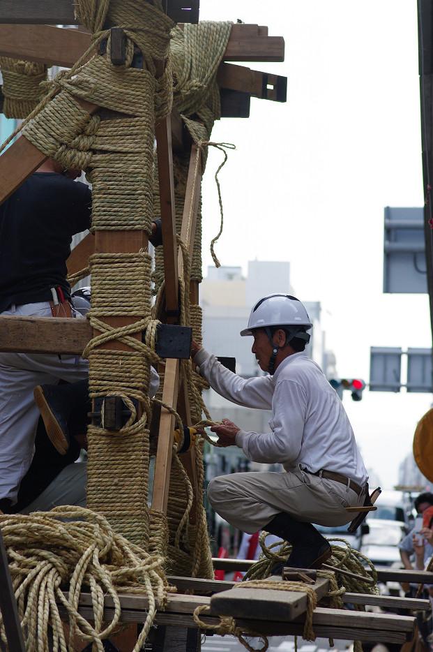 祇園祭 鉾建て..._f0152550_12394864.jpg