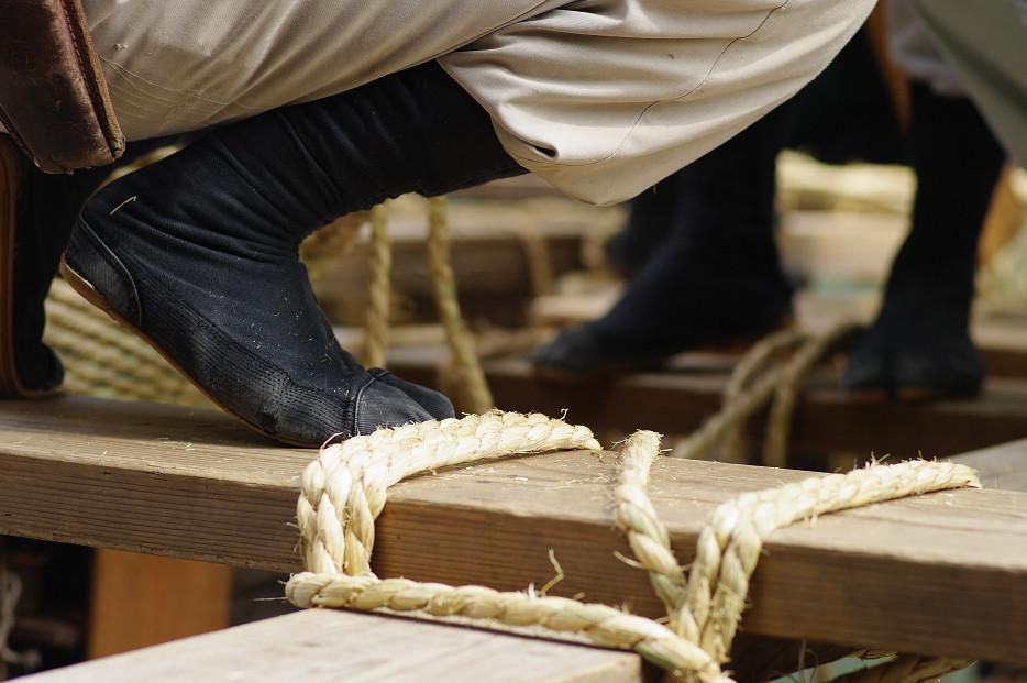 祇園祭 鉾建て..._f0152550_12403157.jpg