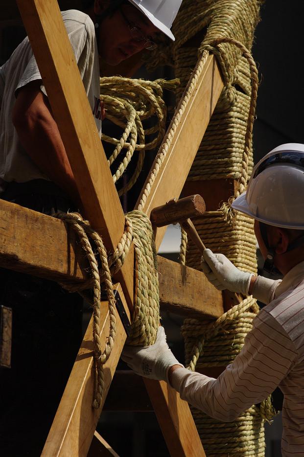 祇園祭 鉾建て..._f0152550_12403828.jpg