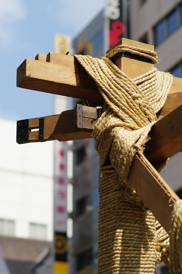 祇園祭 鉾建て..._f0152550_12405896.jpg
