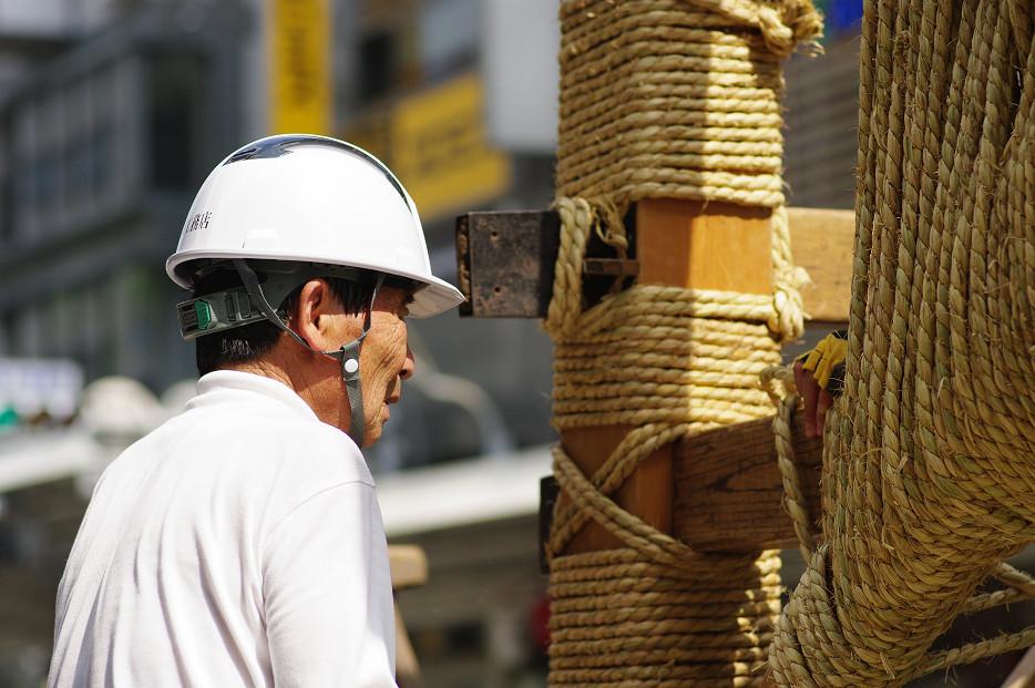 祇園祭 鉾建て..._f0152550_12411326.jpg