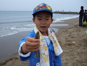 内灘夢教室ー親子でキス釣り_f0062159_16315740.jpg
