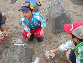 内灘夢教室ー親子でキス釣り_f0062159_1634798.jpg