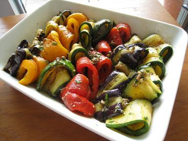 夏野菜のイタリア料理_b0107003_16125531.jpg