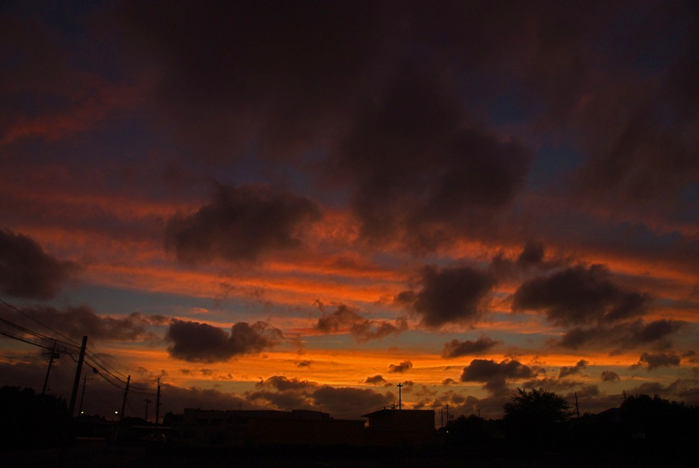 今日の夕焼け。_c0127403_2354218.jpg