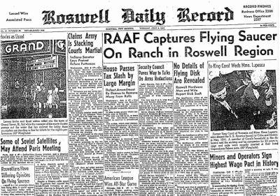 すべてはここから始まった!:「ロズウェルの宇宙人捕獲」事件_e0171614_1321115.jpg