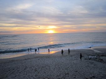 大浜の夕陽_e0041337_9541425.jpg
