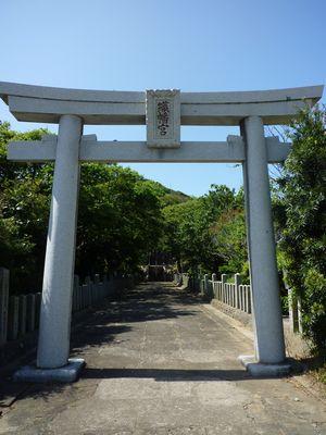 織幡神社(1)風と海と空の中の宮は海の神様が勢揃い_c0222861_2238423.jpg