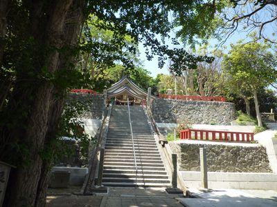 織幡神社(1)風と海と空の中の宮は海の神様が勢揃い_c0222861_2240527.jpg