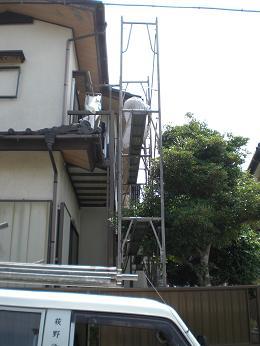 塗装工事開始_d0165368_6164616.jpg