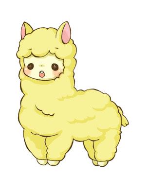 画像 : 【羊アルパカ】もこもこ ...