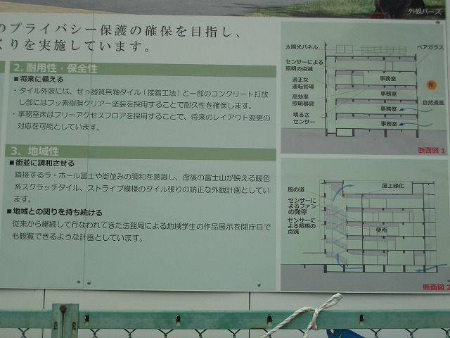 姿を現し始めた「富士法務総合庁舎」_f0141310_22411856.jpg