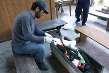 八杉千年の森イベント「本格派・炭焼き体験・窯だし 木炭アート」開催(その3)_e0061225_133756.jpg
