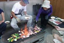 八杉千年の森イベント「本格派・炭焼き体験・窯だし 木炭アート」開催(その3)_e0061225_13463566.jpg